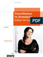 Taxe - Tax Book - 2012