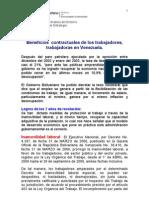 Logros Laborales Gobierno Bolivariano Hasta 2006