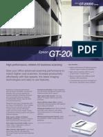 Gt 2000 Scanner