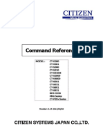 Citizen Command Reference POS