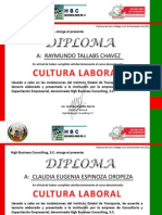 Diplomas Cultura Listo
