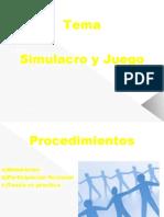 """VERSION 2 DE  """"SIMULACRO YJUEGO"""""""