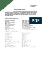 PM2 Spring Exam Guide 2012