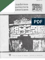 Cuadernos de Arquitectura Mesoamericana.01