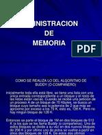 Admin de Memoria
