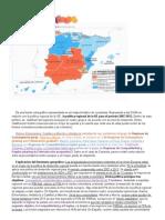 Las regiones españolas en la UE