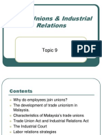 11. Trade Unions and Ind Relations