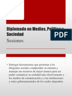 Sesiones Diplomado MPS 2012