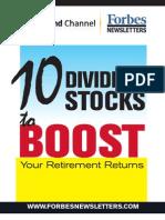 Ten Dividend Stocks