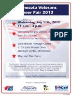 Veterans Job Fair 2012