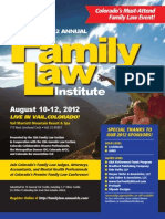2012 Annual Family Law Institute