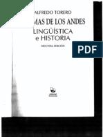 Idiomas de los Andes, Alfredo Torero