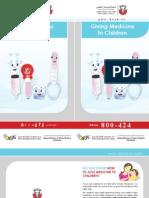 Giving Medicine to Children - Health Authority Abu Dhabi - HAAD