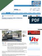 Promete Felipe Enríquez recarpetear calles en Monterrey