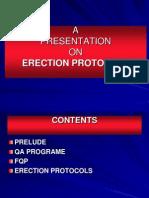 Erection Protocols