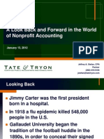 2012 Nonprofit Audit Update
