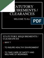 Statutory Clearances