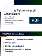 Managing Risk in Nonprofit Organizations
