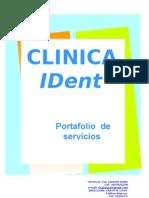 Port a Folio de Servicios Ident 2012