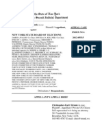 Appellant's BRIEF and APPENDIX -  NYS Appellate Division 2nd Dept Appeal 2012-05515