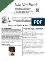 May27th Bulletin