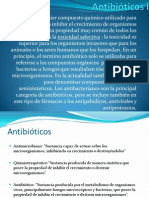 1.- Antibioticos