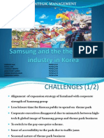 samsung and the theme park 2 essay The name happy world land extreme park was chosen because it is an original and unique name that stands out to the target audience the name also provides an adequate description of the theme park and the general atmosphere of the park.