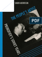 Morrison, The People's Artist - Prokofiev's Soviet Years