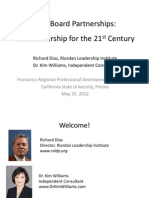 CBO-Board Partnerships-CBO Leadership for the 21st Century