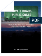 Private Roads Public Costs