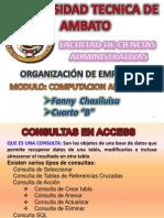FANNY CHASILUISA CONSULTAS EN ACCESS.ppt
