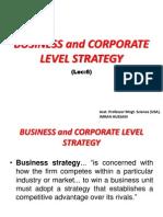 Lec (6)- Bus. & Cor. Strategy