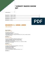 Bkrs Episode List