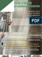 Origen de La Ingeniera Economica