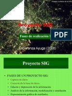 creacion proyecto SIG