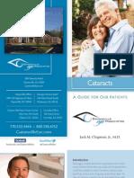 Gainesville Eye Cataract Brochure