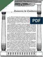 Codigo Rosacruz de Conducta