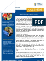 Halls News Issue Three 2012