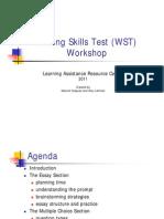 WST Workshop Presentation 1 for Web