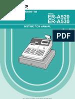 A530 Operator Manual