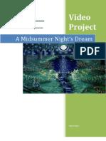 Midsummer Night's Dream Project