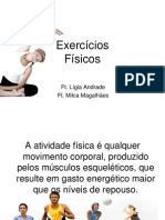 Exercícios físicos - Lígia e Milca