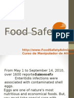 Food Safety Admin | Eggs
