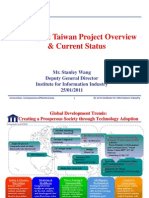 Intelligent Taiwan National ICT Policy 20110125