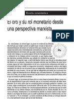 Astarita.el Oro y Su Rol Monetario Desde Una Perspectiva Marxista.re n199 2003
