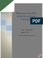 Kliping Makanan Atau Kue Khas Dari 33 Provinsi Di Indonesia