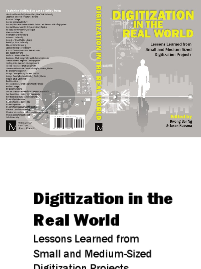 Digitization in the real world lessons learned from small and digitization in the real world lessons learned from small and medium size digitization projects digitizing cascading style sheets fandeluxe Gallery