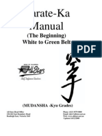 Karate-Ka Manual White-Green Belt