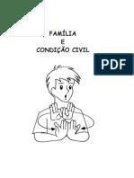 FAMÍLIA E CONDIÇÃO CIVIL - Libras