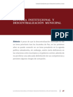 Descentralizacion Municipal